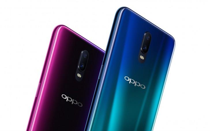 Oppo R17 Steam Blue Neon Purple