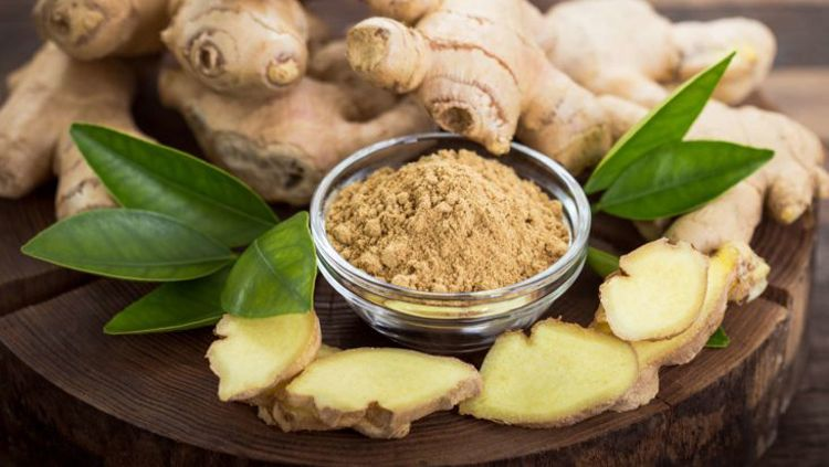 Ginger in remedy of abdominal pain